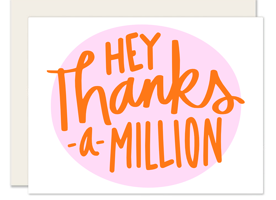 Thanks a million clipart clipart freeuse stock Thanks a Million | ktfdesign clipart freeuse stock