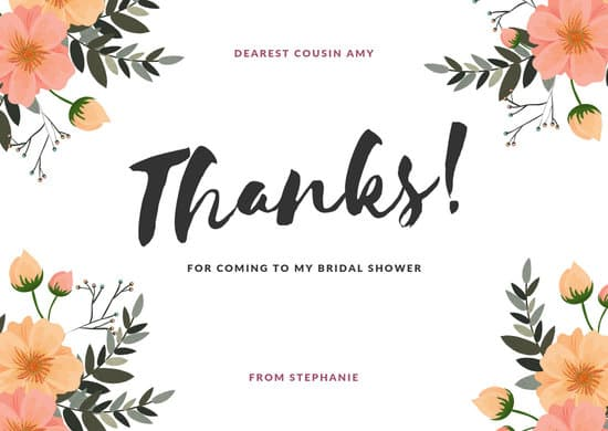 Thanks for coming clipart jpg stock Customize 397+ Thank You Card templates online - Canva jpg stock