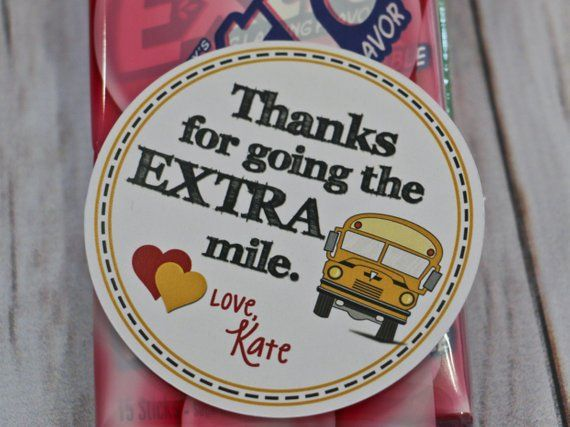 Thanks for going the extra mile gum clipart jpg free Valentine Printable - Bus Driver Valentine/Thank You ... jpg free