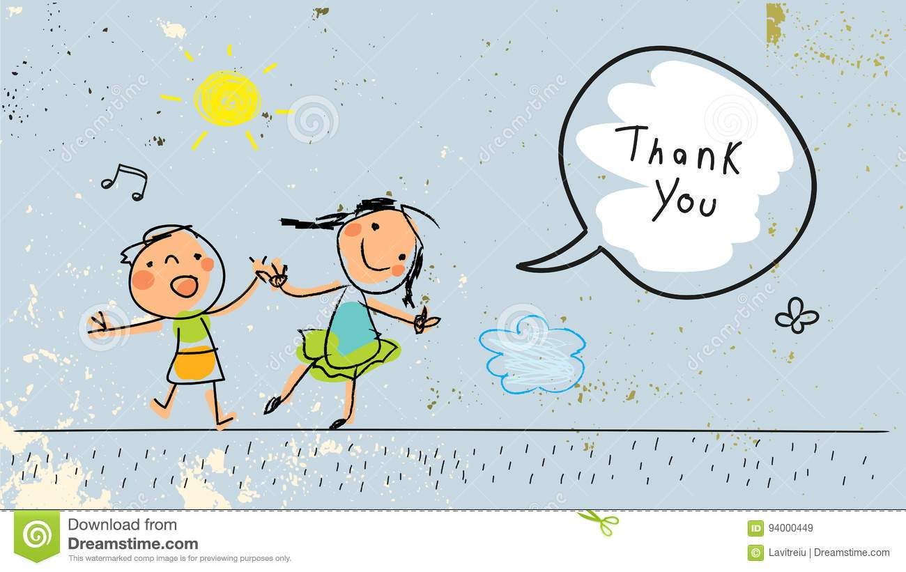 Thanks kid clipart jpg black and white download Child saying thank you clipart 6 » Clipart Portal jpg black and white download