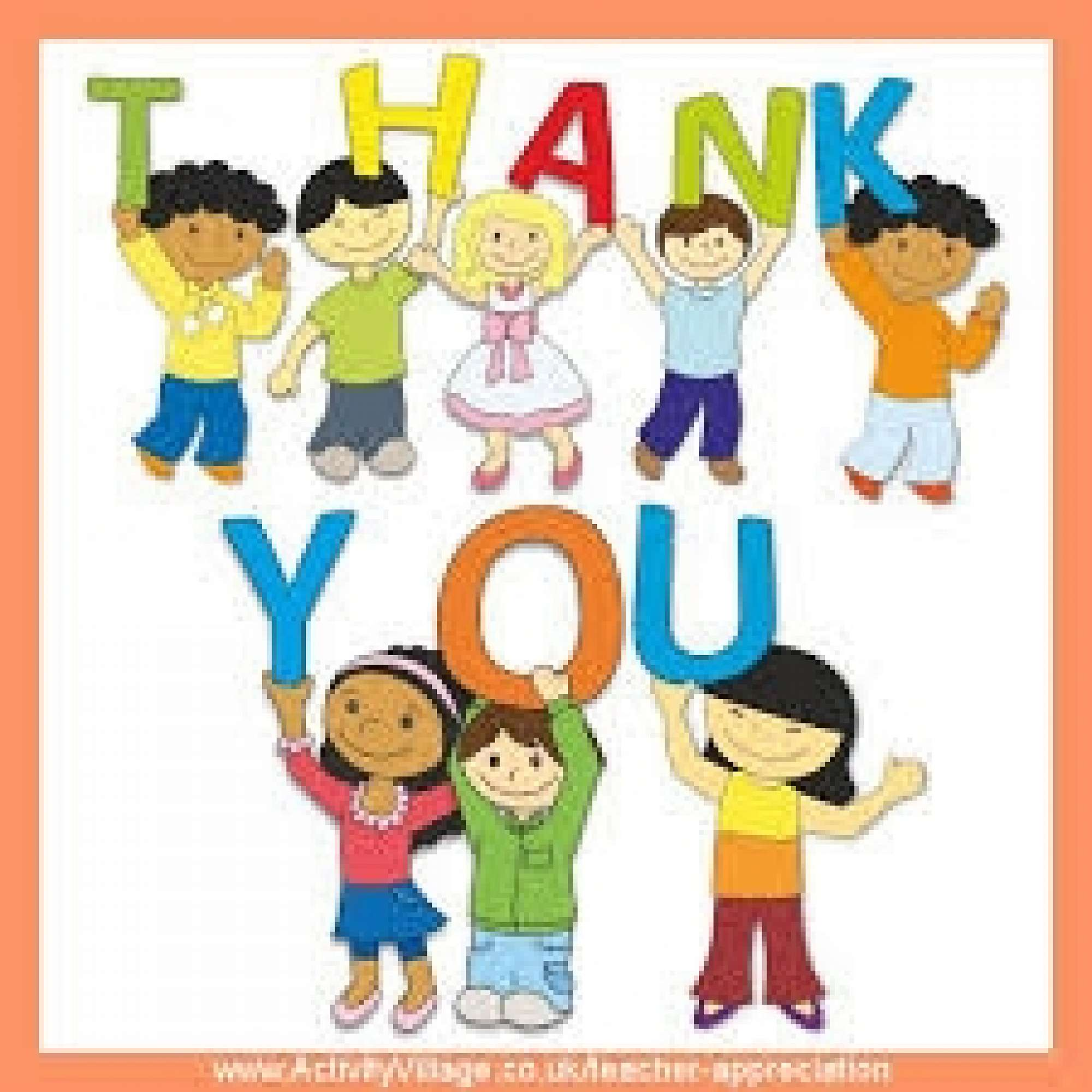 Thank you for sharing clipart jpg royalty free stock Middle Syndicate Parent Thank-You jpg royalty free stock