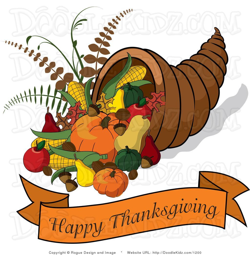 Thanksgiving 2018 free clipart clip library library Free clipart cornucopia thanksgiving 3 » Clipart Portal clip library library