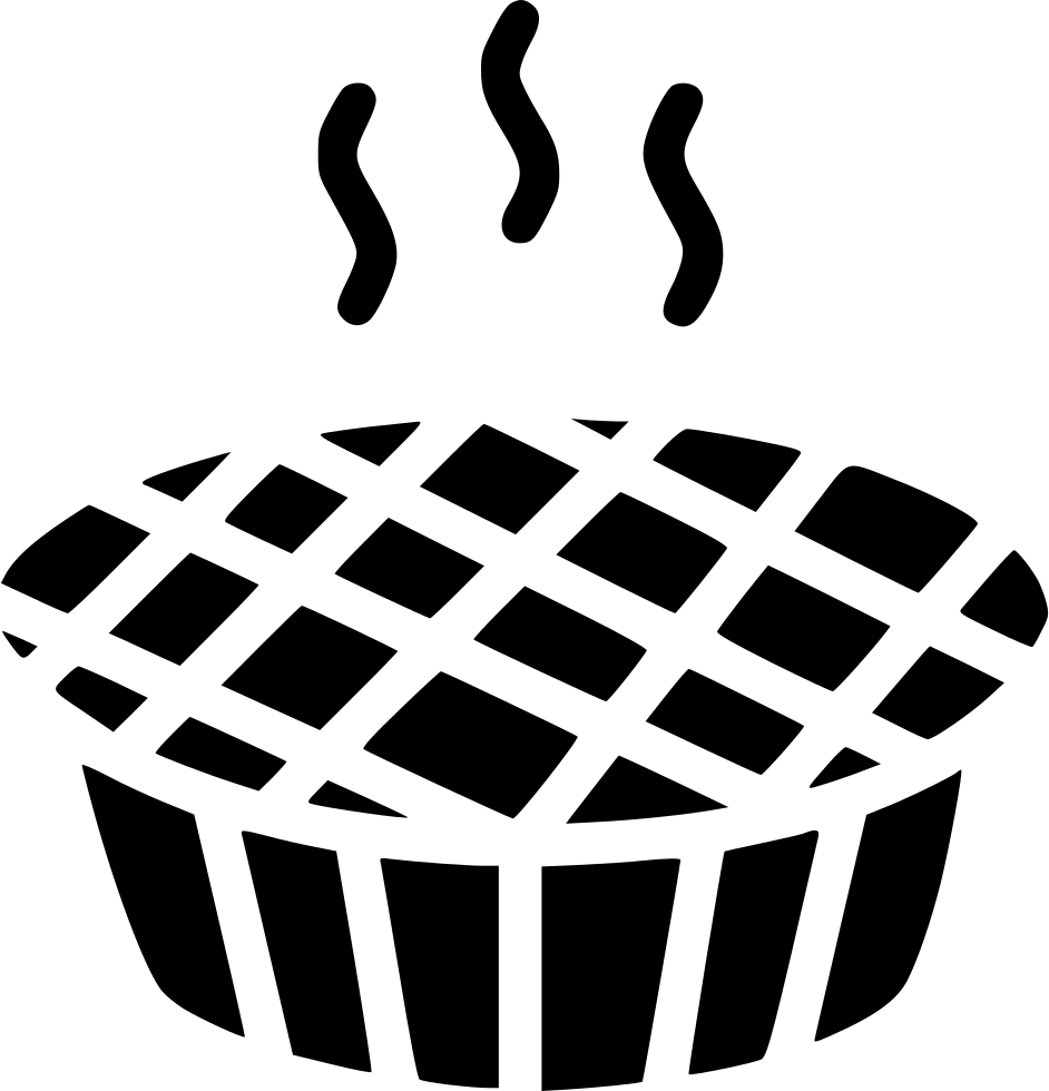 Thanksgiving and christmas baking clipart svg black and white Pie Thanksgiving Christmas Cake Bake Svg Png Icon Free Download ... svg black and white