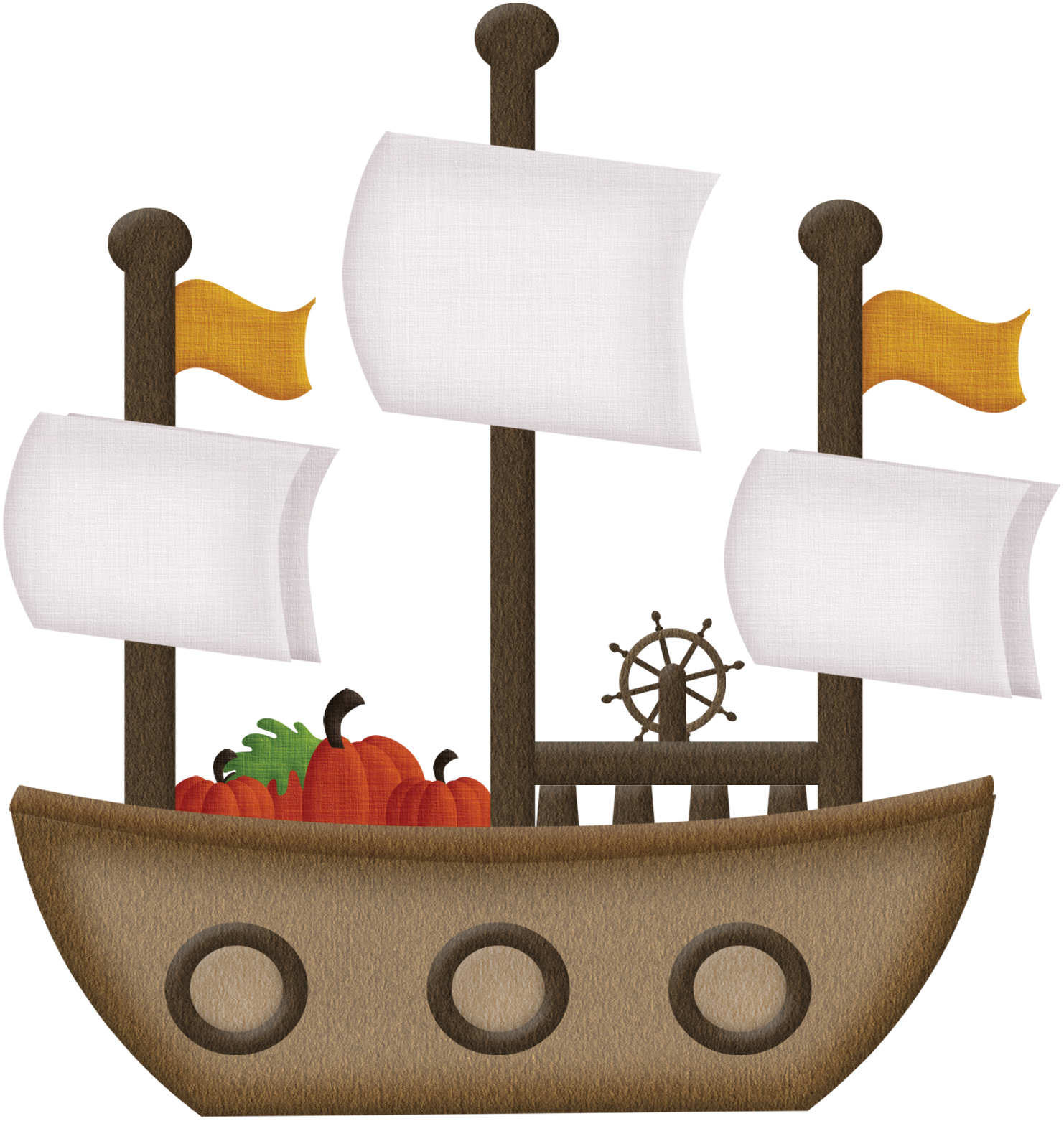 Thanksgiving boat clipart vector royalty free library Photo by @martamota - Minus | Dibus | Pinterest | Pilgrim ... vector royalty free library
