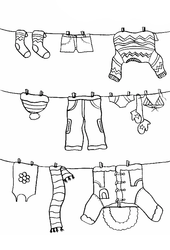 Thanksgiving boots coloring page clipart banner royalty free stock Pictures Color The Winter Clothes Coloring PAges - Winter Coloring ... banner royalty free stock