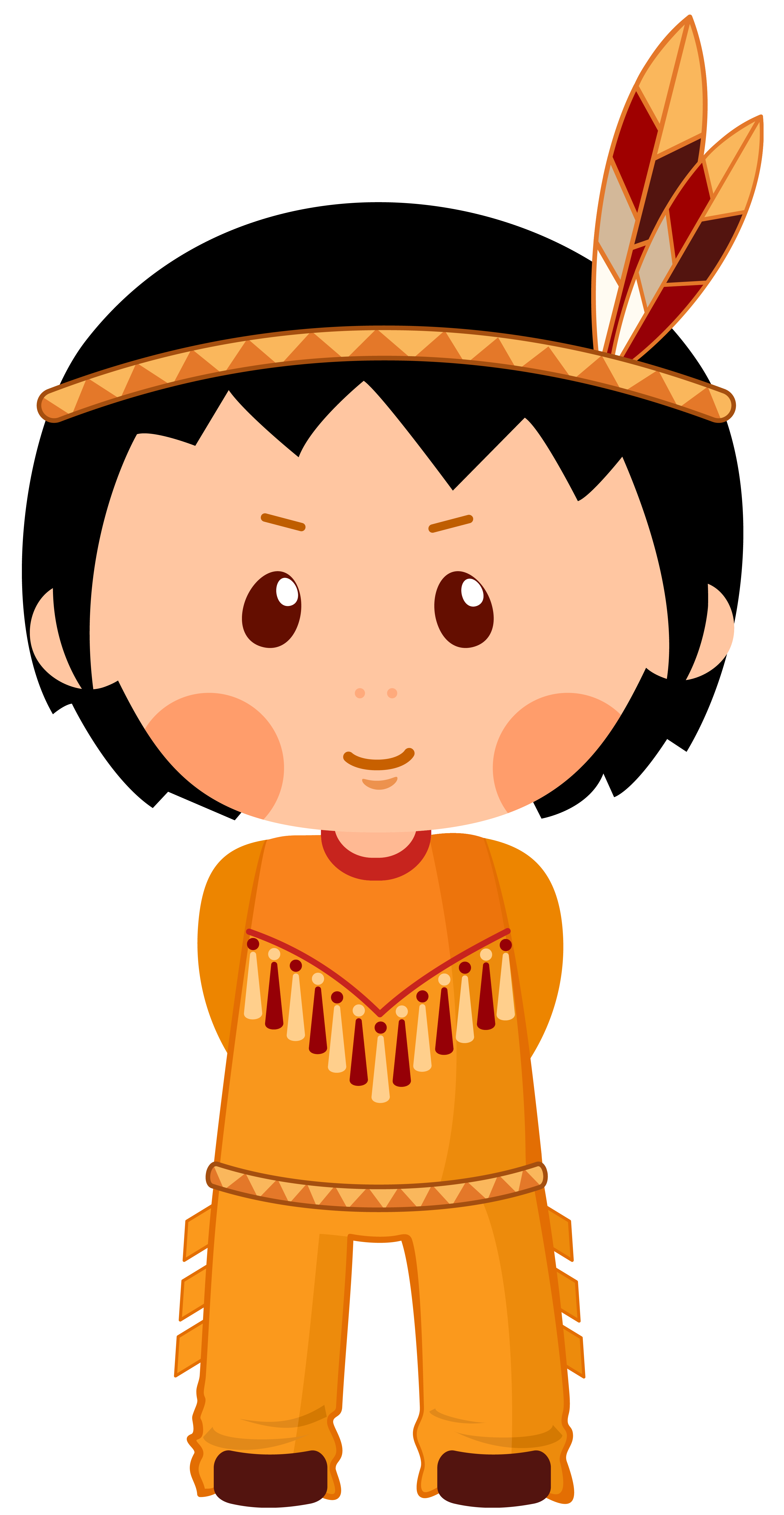 Thanksgiving indian no background clipart vector download Native American Boy Clipar PNG Image | Gallery Yopriceville - High ... vector download