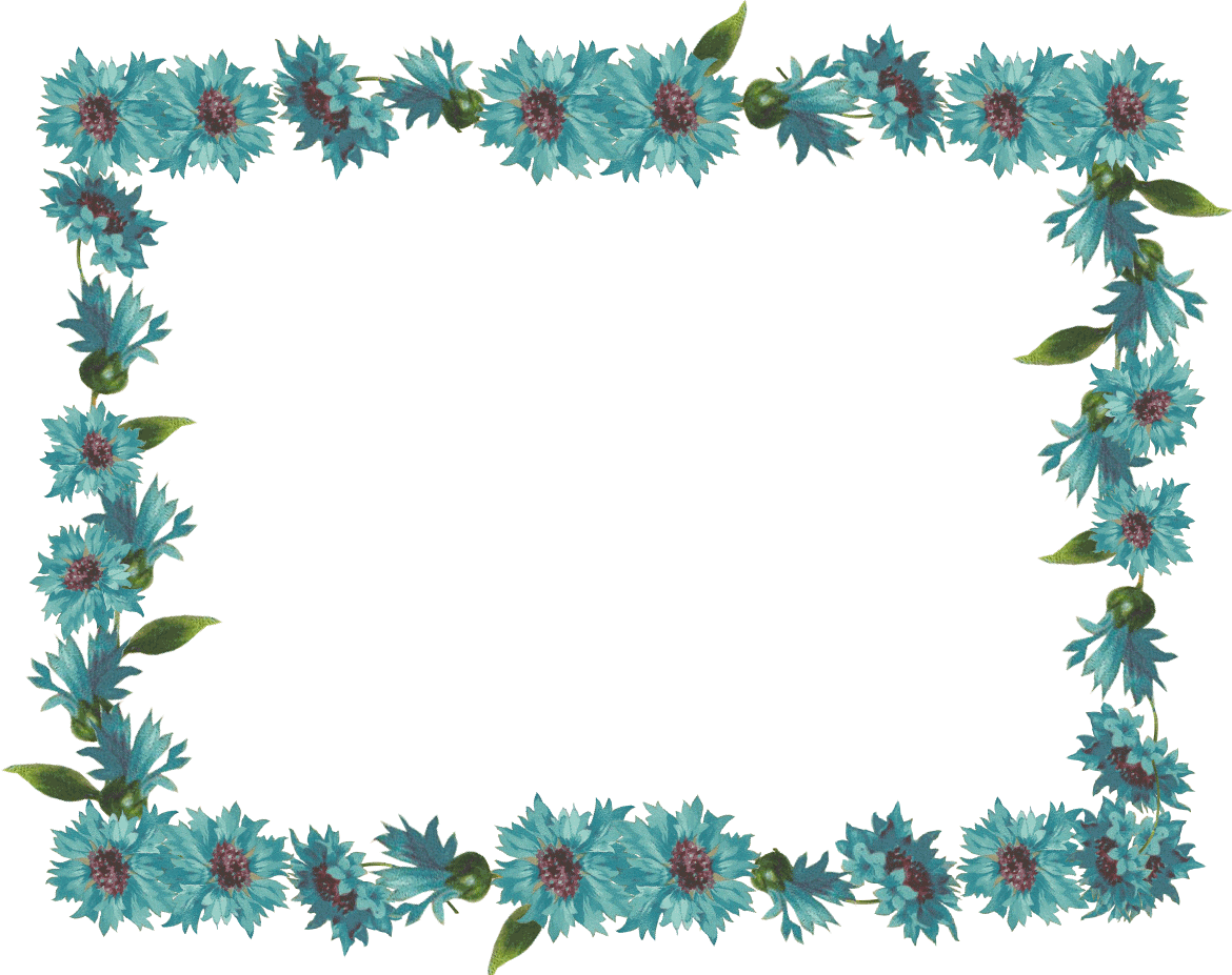Thanksgiving border clipart right side border banner royalty free stock Picture Frames With Simple Borders | vintage flower frame & border ... banner royalty free stock