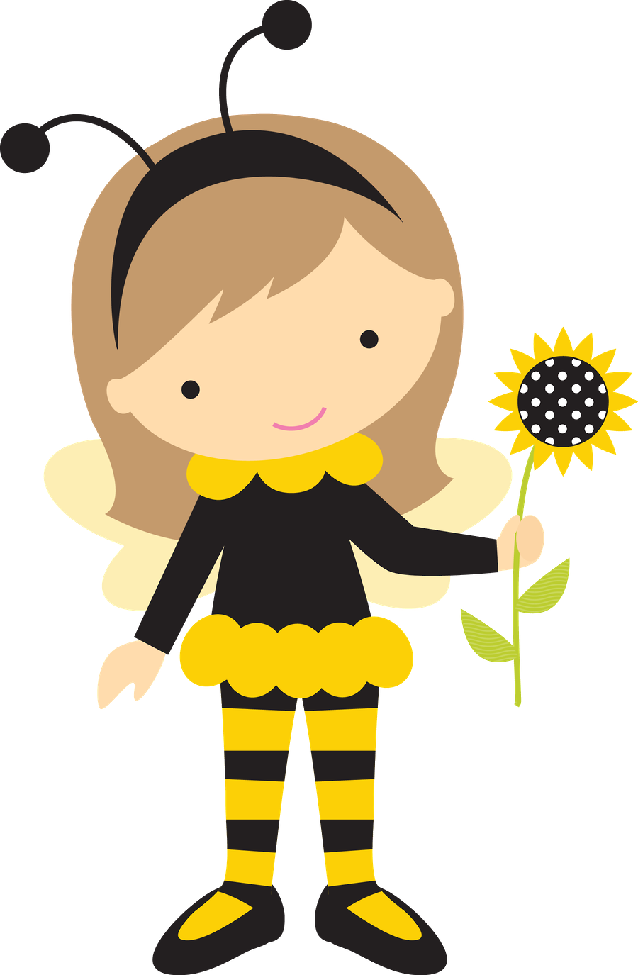 Thanksgiving bumblebee clipart clip library library Abelhinhas - Minus   already felt- cute insects....and pond life ... clip library library