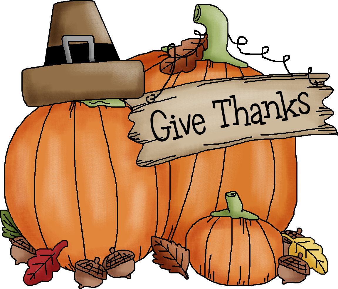Thanksgiving clipart borders vector royalty free Thanksgiving Give Thanks Clipart (75+) vector royalty free