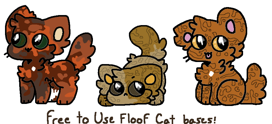 Thanksgiving clipart cats graphic Floofy cats by Buggies12345 on DeviantArt graphic