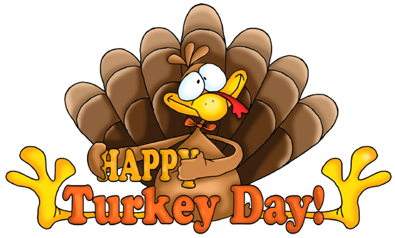 Cute turkey clipart black and white free banner free stock Happy Thanksgiving Cliparts 2018, Free Thanksgiving Clip art & Graphics banner free stock