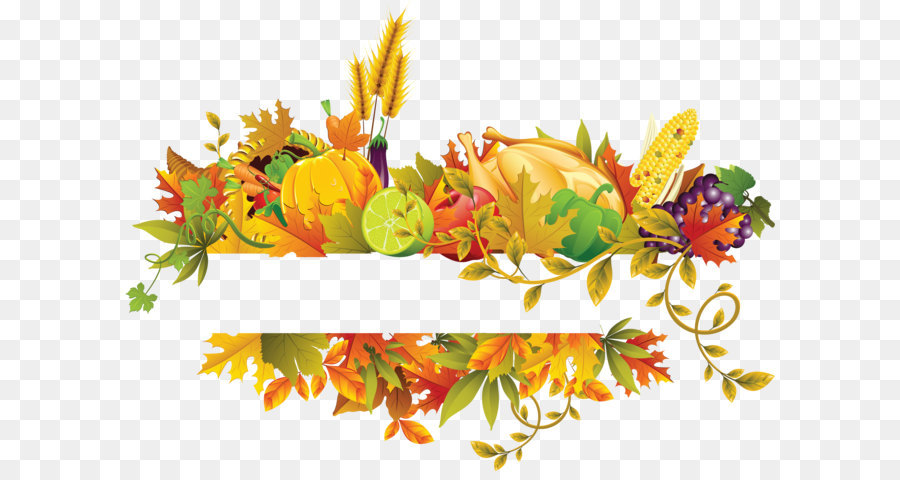 Thanksgiving clipart flowers picture free stock Thanksgiving Day Background Design png download - 6321*4579 ... picture free stock