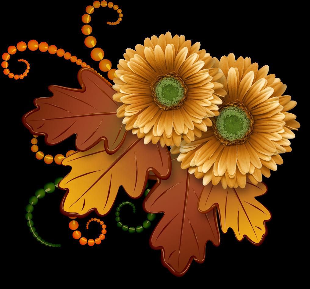 Thanksgiving clipart flowers jpg transparent download Ch - B *✿* - Thanksgiving Flowers Clip Art - Download ... jpg transparent download