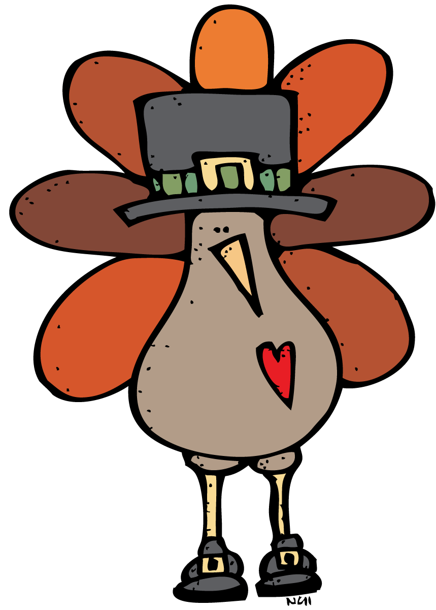 Thanksgiving cute clipart turkey with pilgrim png Thanksgiving Clip Art For Fb - Alternative Clipart Design • png
