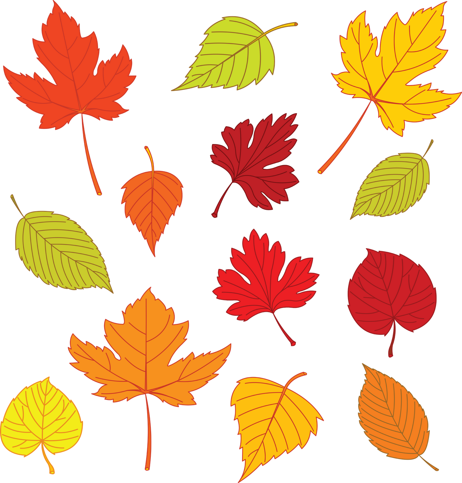 Thanksgiving garland clipart jpg library stock Leaf Drawing Template at GetDrawings.com | Free for personal use ... jpg library stock