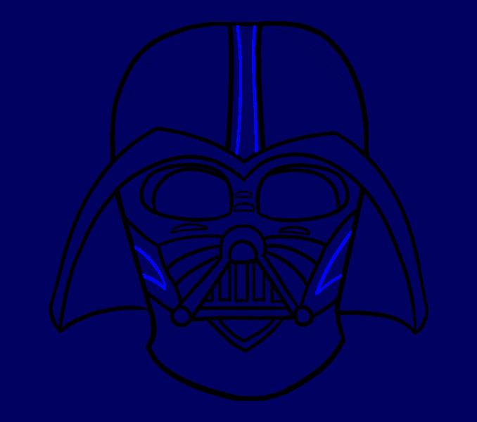 Thanksgiving clipart free darth vader vector free stock Darth Vader Drawing For Kids at GetDrawings.com   Free for personal ... vector free stock