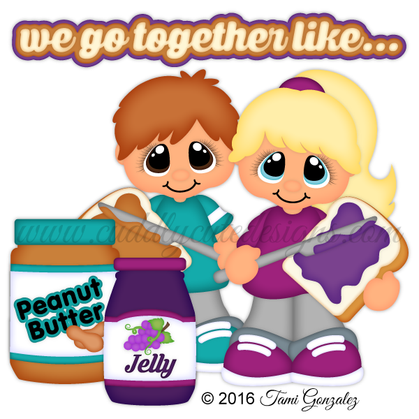 Thanksgiving clipart free peanuts vector transparent We Go Together Like...Peanut Butter and Jelly vector transparent