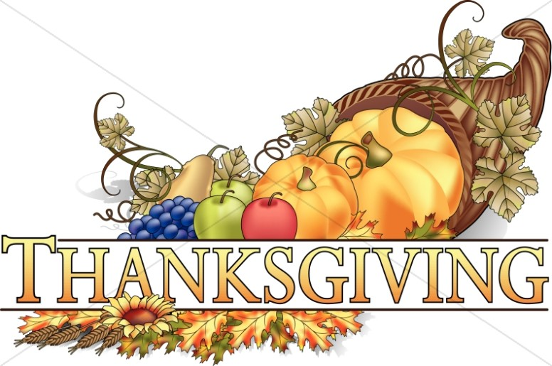 Thanksgiving images clipart clip free Thanksgiving Cornucopia Wordart | Thanksgiving Clipart clip free