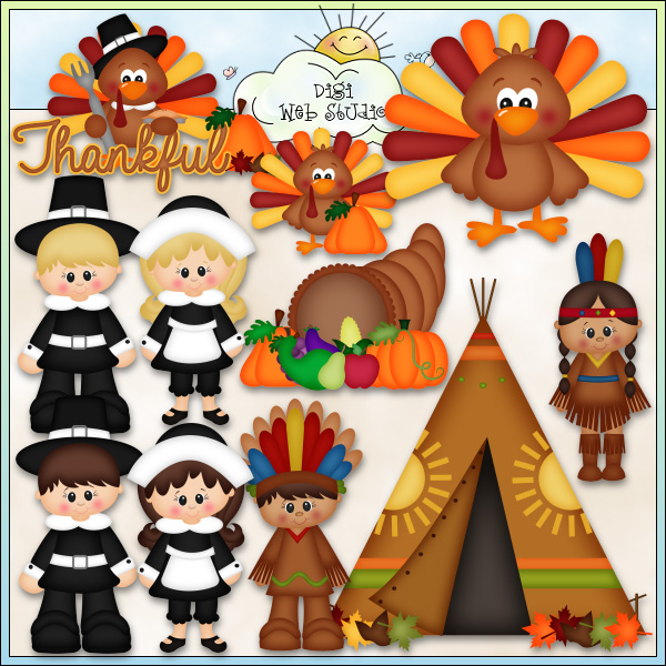 Thanksgiving clipart printables banner freeuse library Thanksgiving clipart printable - ClipartFest banner freeuse library
