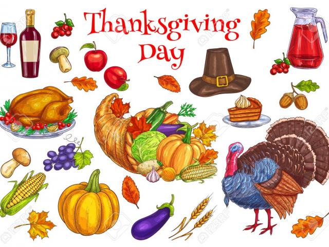 Thanksgiving clipart traditional graphic transparent stock Free Cornucopia Clipart, Download Free Clip Art on Owips.com graphic transparent stock
