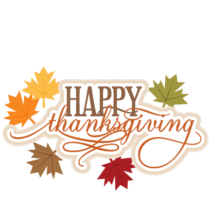 Thanksgiving clipart with quote vector Happy thanksgiving clipart day 7 quotes - ClipartAndScrap vector