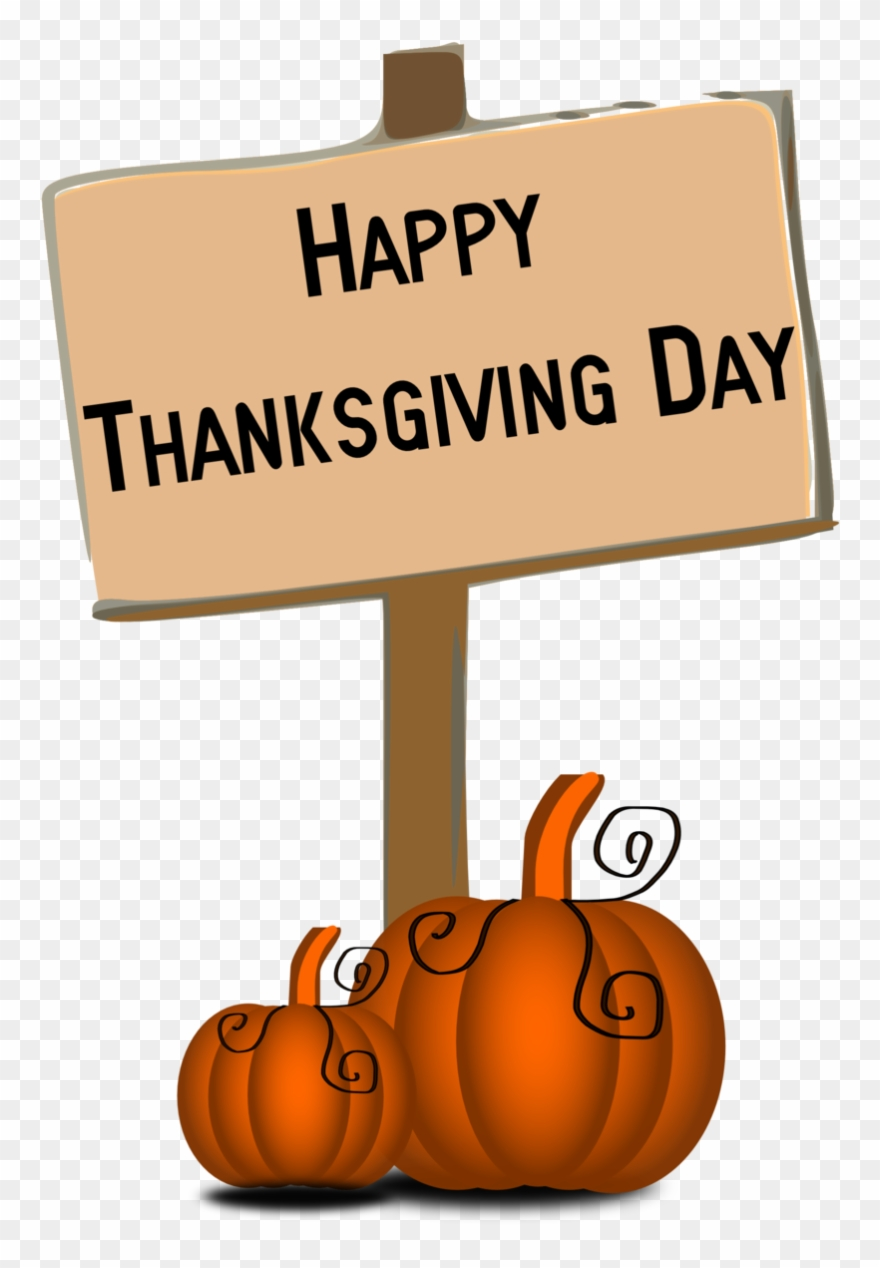 Thanksgiving day cliparts picture library library Thank - Happy Thanksgiving Day Clip Art - Png Download ... picture library library