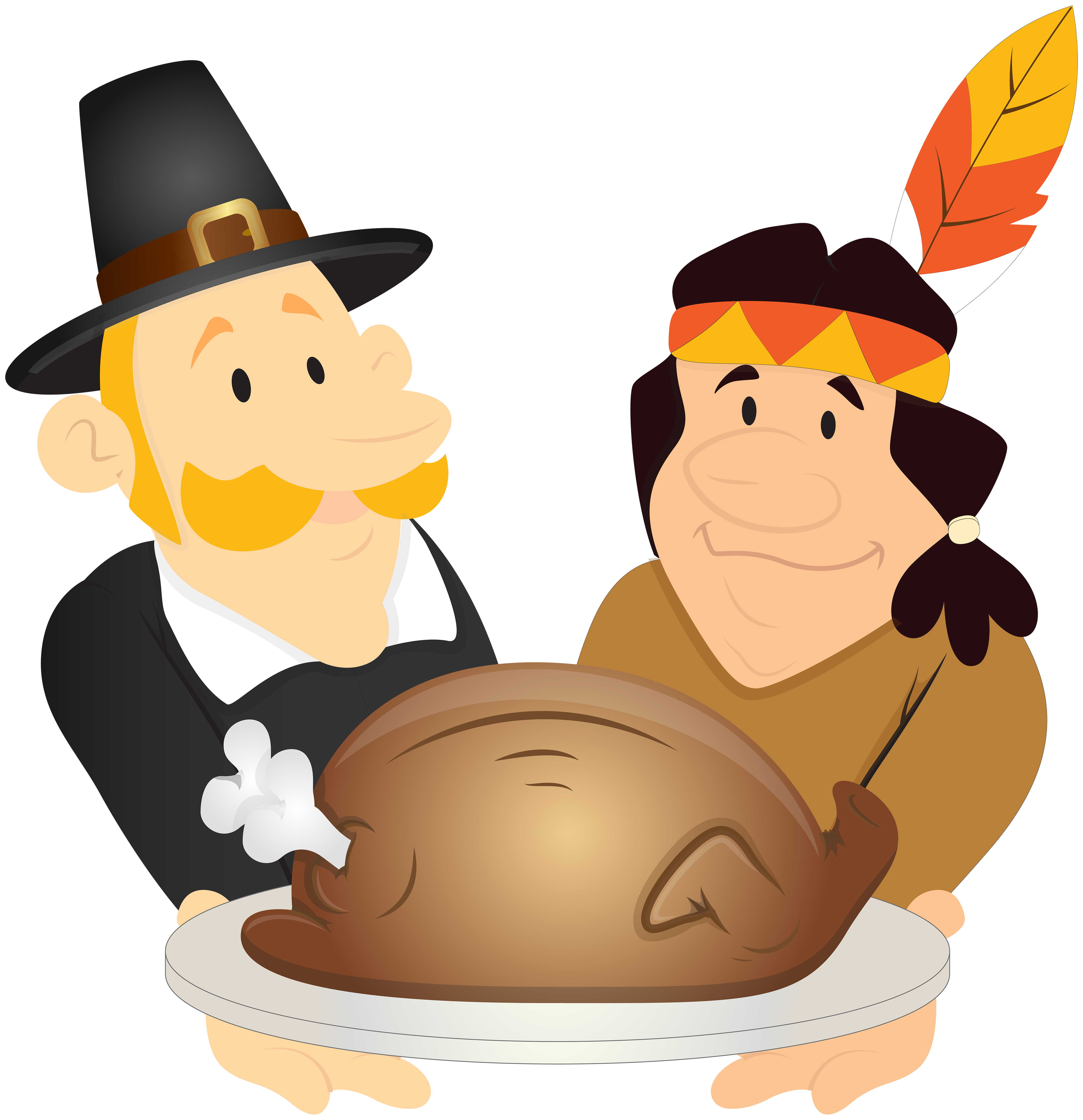 Thanksgiving day cliparts clipart library download Thanksgiving Day PNG Clip Art Image | Gallery Yopriceville ... clipart library download