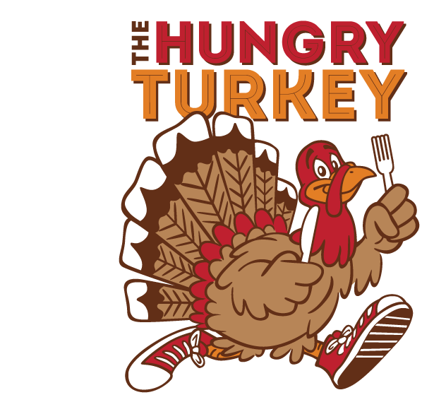 Turkey run clipart graphic library library The Hungry Turkey 5k | St Louis' Thanksgiving Day Parade 5K graphic library library