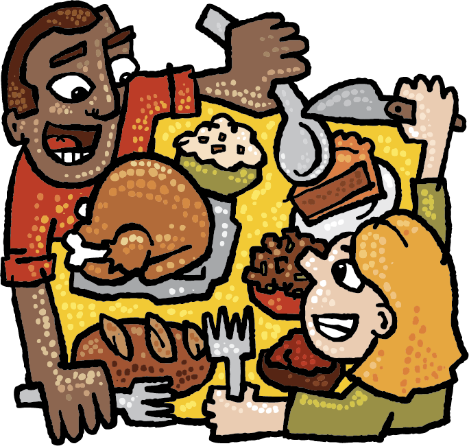 Thanksgiving dinner community clipart clip art free This Week at Zingerman's 11/26/13 - Zingerman's Community of Businesses clip art free
