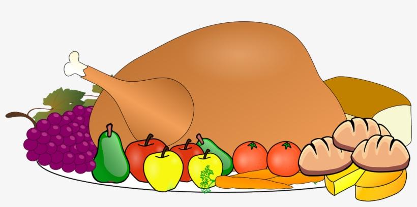 Thanksgiving dinner dance clipart jpg library Turkey Food Thanksgiving Dinner Feast Cele - Feast Clipart ... jpg library