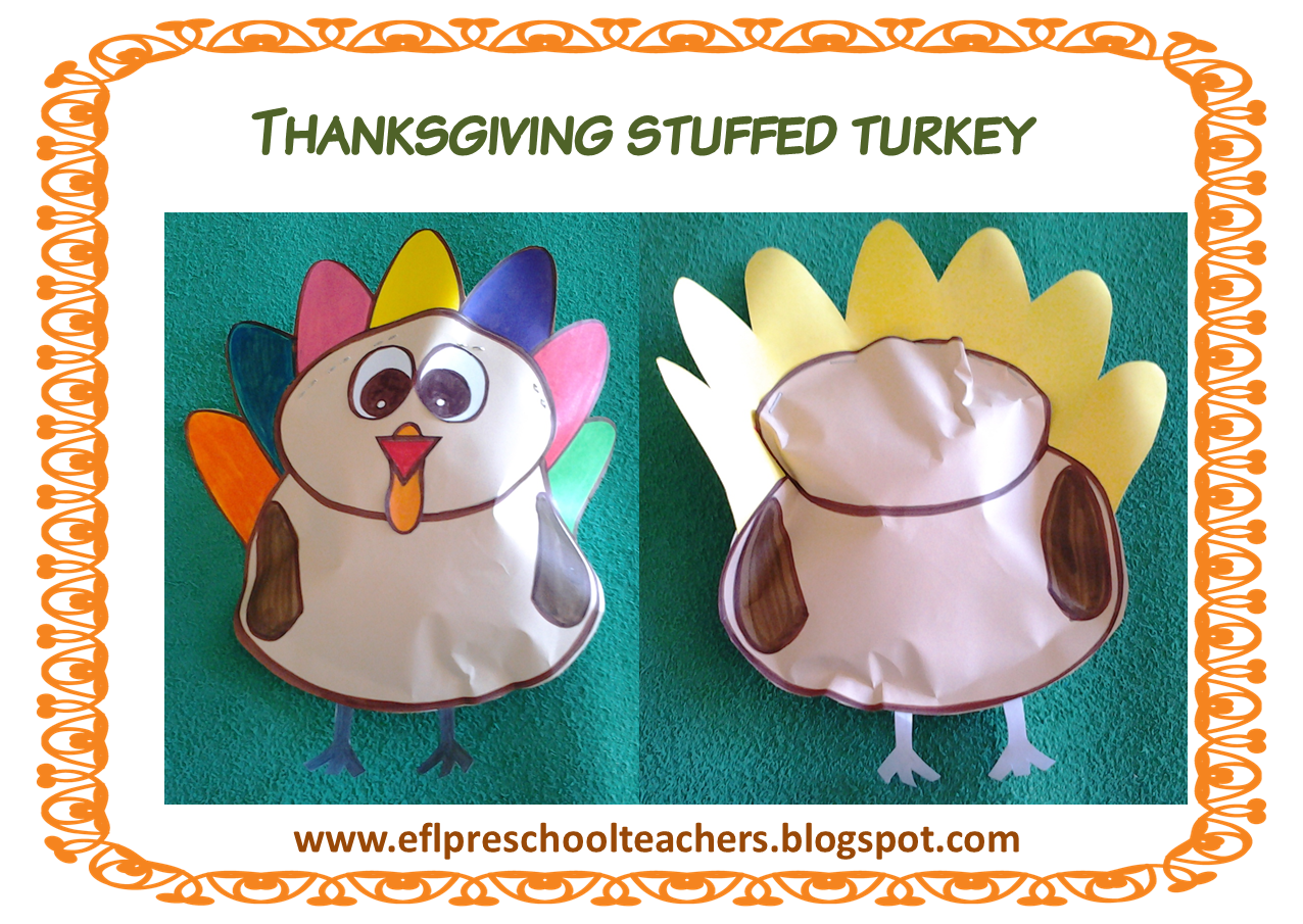 Thanksgiving domino clipart svg black and white stock ESL/EFL Preschool Teachers: Thanksgiving 4th edition svg black and white stock