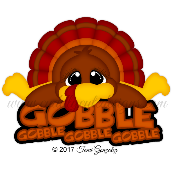 Tiger thanksgiving clipart graphic freeuse library Turkey Gobble | Thanksgiving | Pinterest | Scrapbook, Scrapbook ... graphic freeuse library