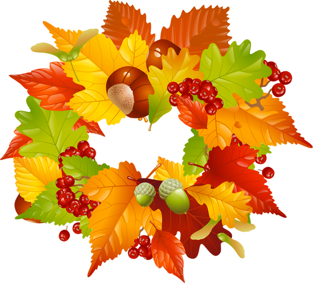 Thanksgiving garland clipart clipart free stock 28+ Collection of Thanksgiving Garland Clipart | High quality, free ... clipart free stock