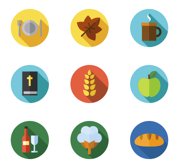 Thanksgiving icons clipart clip library stock Best Thanksgiving icon packs from Flaticon clip library stock