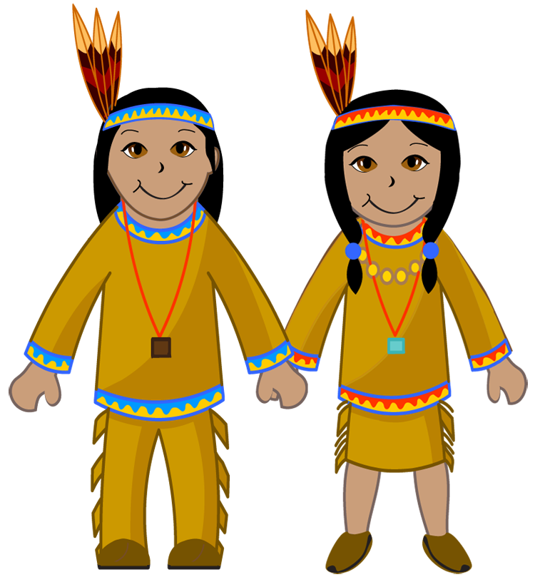 Thanksgiving library clipart clip freeuse Native American Clipart Cute Free collection | Download and share ... clip freeuse
