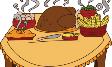 Thanksgiving meal offered clipart graphic freeuse stock Thanksgiving dinner clipart images clipartxtras - Cliparting.com graphic freeuse stock