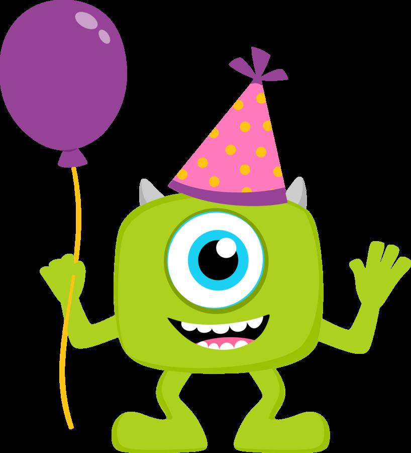 Thanksgiving monsters clipart png free library Clipart de Monster Party Bebés. | Шаблоны | Pinterest | Monsters ... png free library