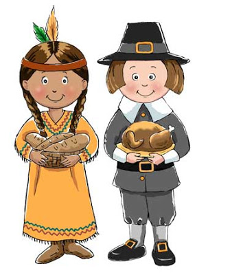 Thanksgiving pilgrim and indian clipart picture transparent download Illustration by windelena lindsay: pilgrim and indian ... picture transparent download