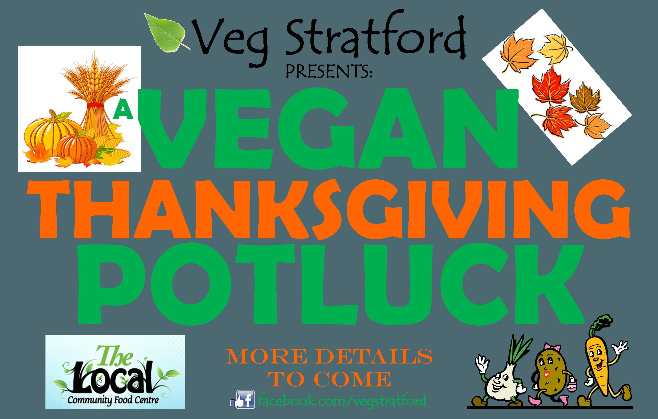 Thanksgiving potluck clipart royalty free Veg Stratford's Vegan Thanksgiving Potluck - My Stratford Now royalty free