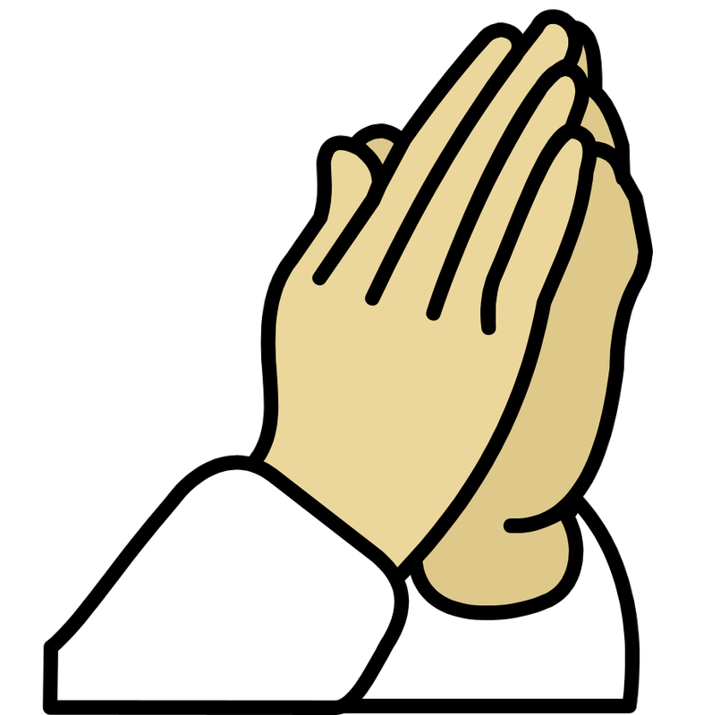 Thanksgiving praying clipart png stock Symbol Thanksgiving - TalkSense png stock