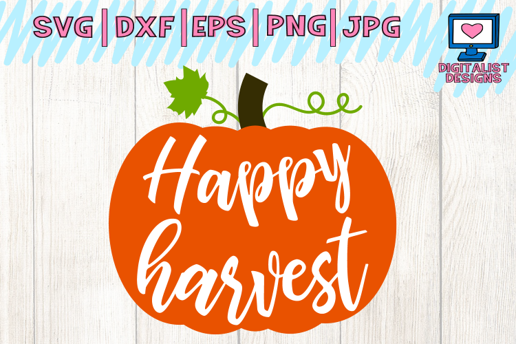 Thanksgiving silhouette words clipart png happy harvest svg, pumpkin svg, fall sv | Design Bundles | Pinterest png
