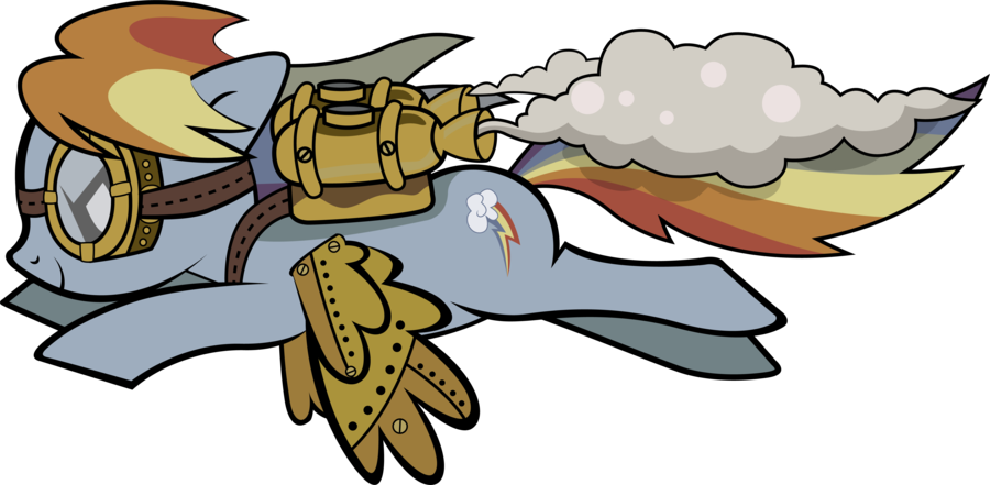 Thanksgiving turkey fitness clipart image Steampunk Rainbow Dash by Mowza2k2 on DeviantArt image