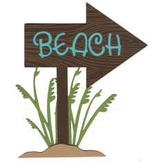 That way to the beach sign clipart picture library Beach sign clipart » Clipart Station picture library