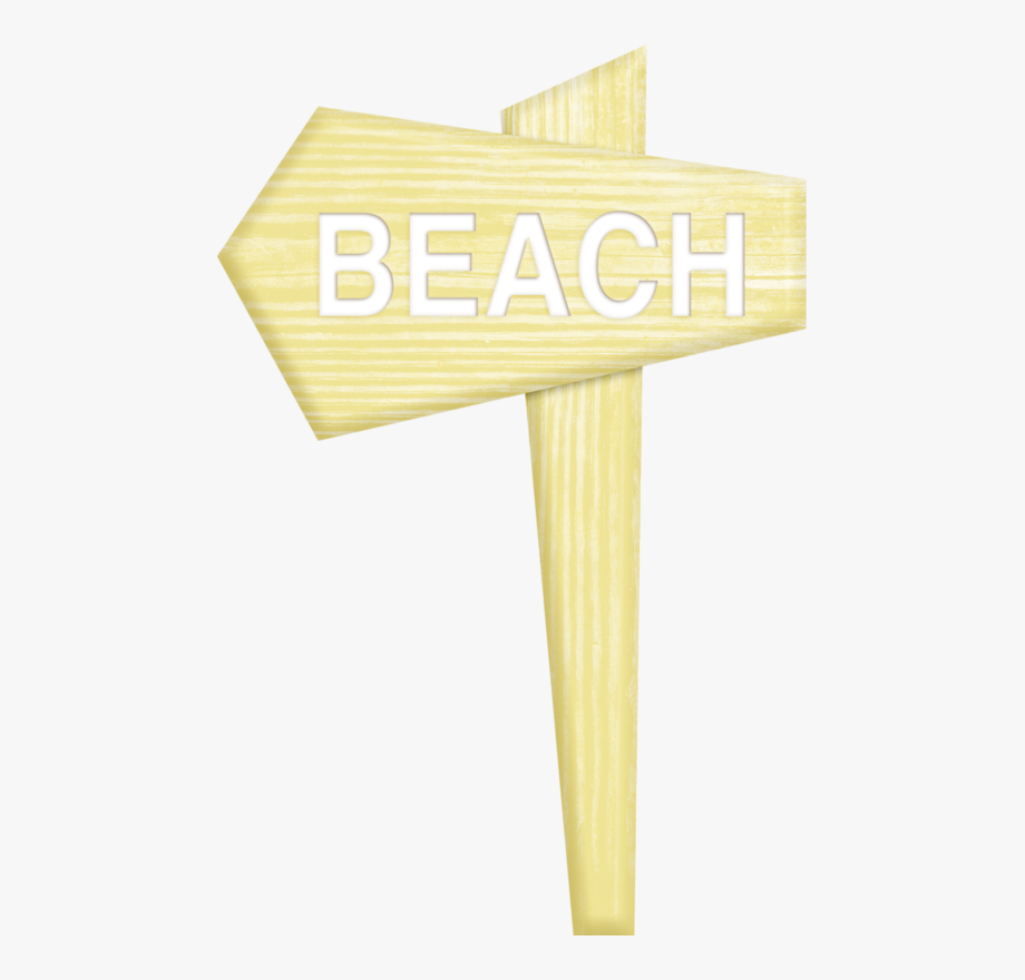 That way to the beach sign clipart jpg black and white Фото, Автор Ladylony На Яндекс - Beach Sign Clipart Png ... jpg black and white
