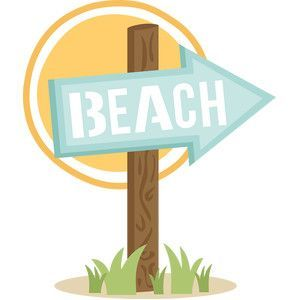 That way to the beach sign clipart vector library download Beach sign clipart 2 » Clipart Portal vector library download