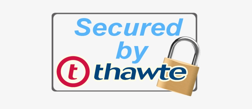 Thawte logo clipart vector stock Payment Methods - Secured By Thawte Logo Transparent PNG ... vector stock