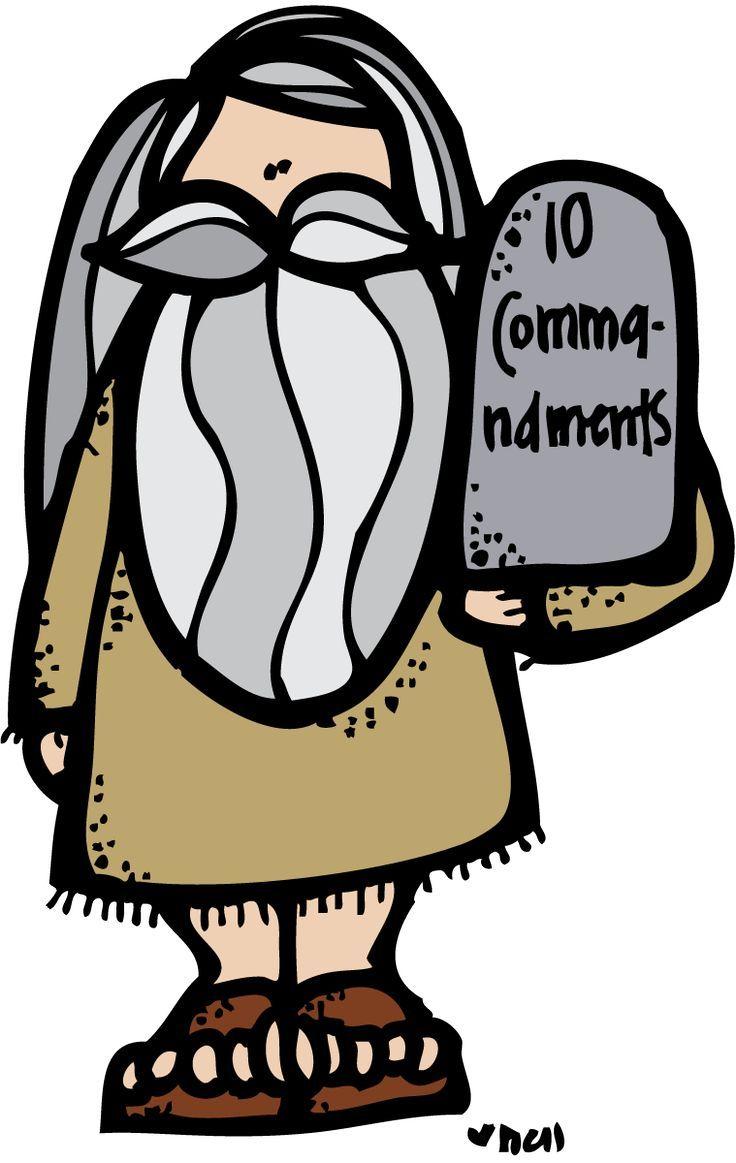 The 10 commandments clipart jpg free Moses & the Ten Commandments | Church Kids Clip Art | 10 ... jpg free