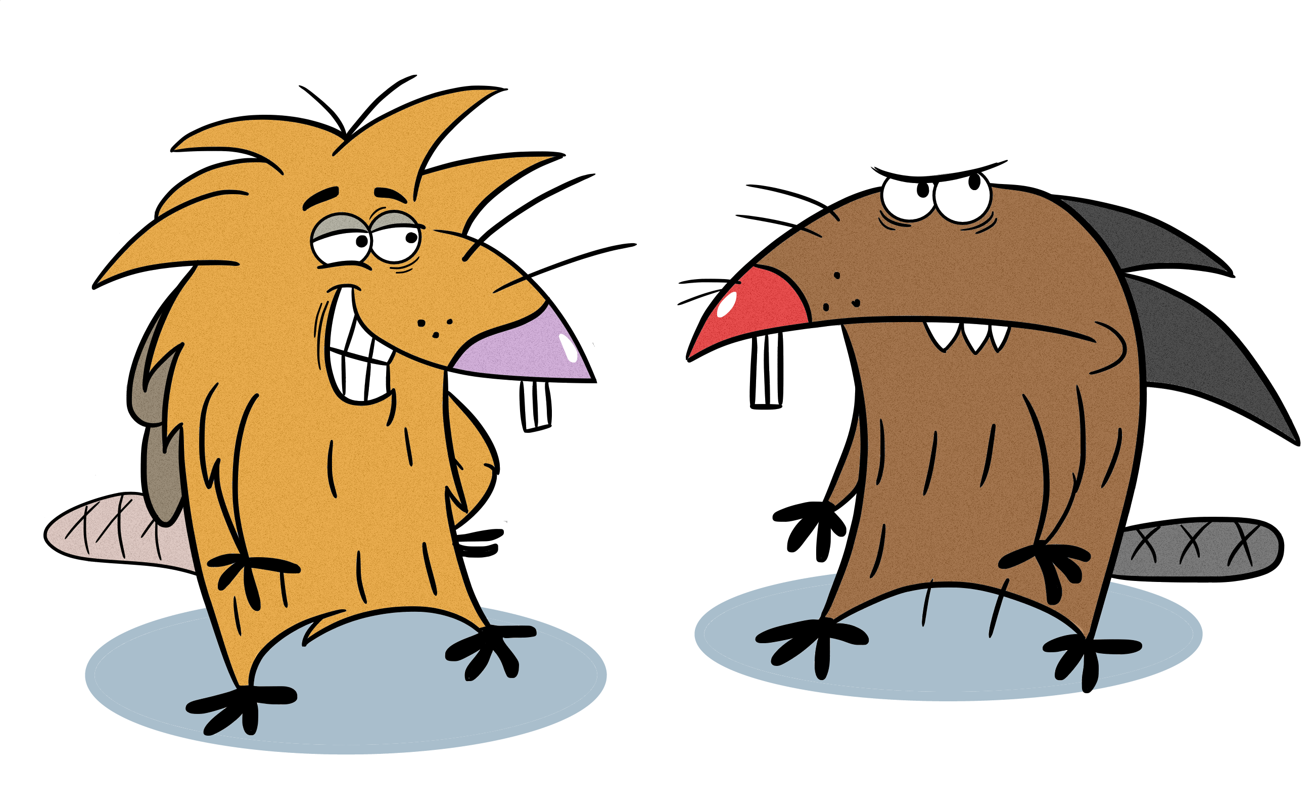 The angry beavers clipart png free stock The Angry Beavers : nickelodeon png free stock