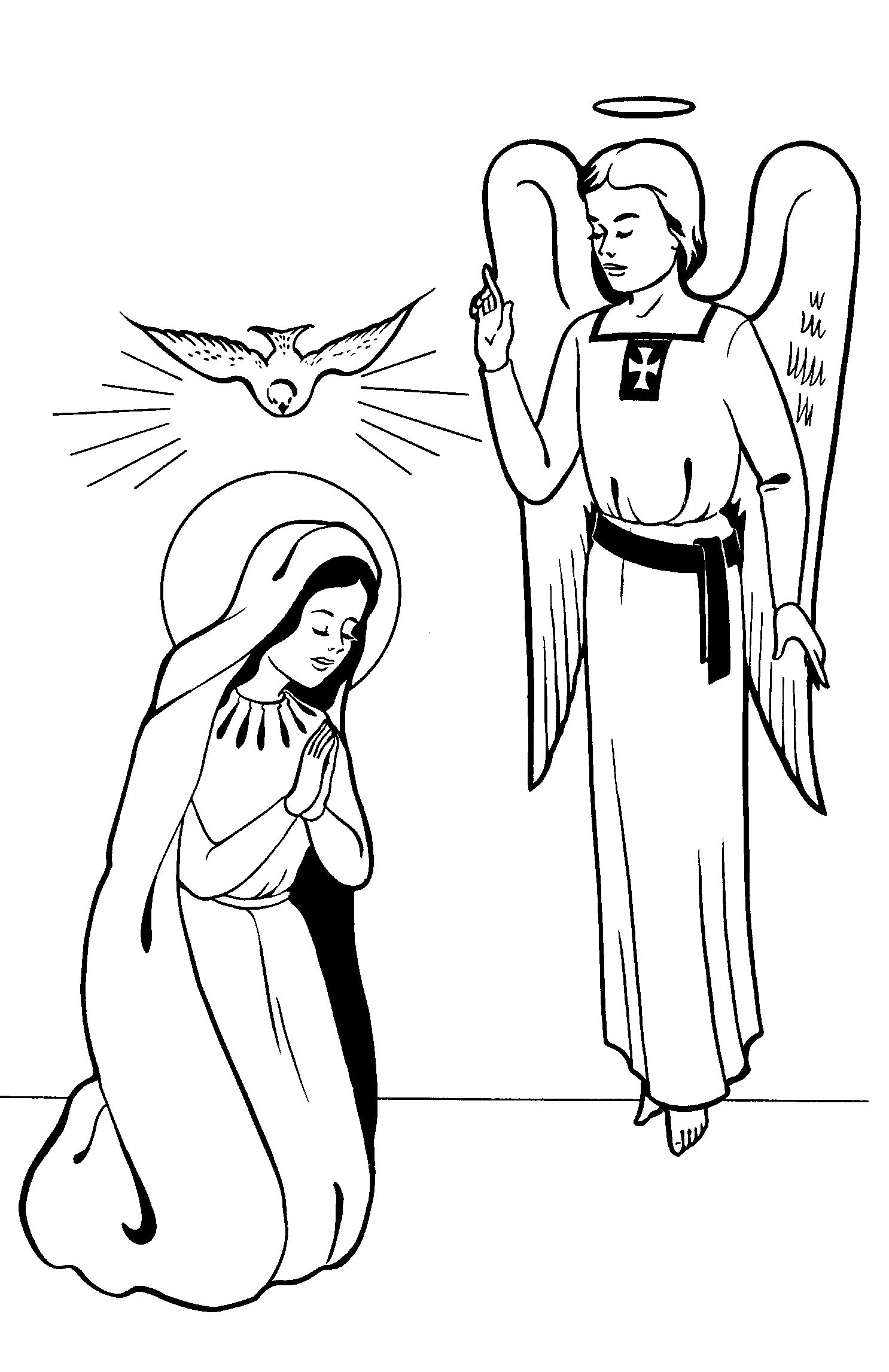The annunciation clipart image stock Free Annunciation Cliparts, Download Free Clip Art, Free ... image stock