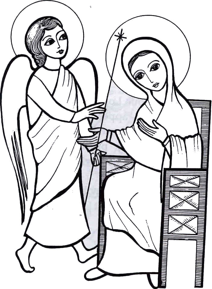 The annunciation clipart clipart Free Annunciation Cliparts, Download Free Clip Art, Free ... clipart